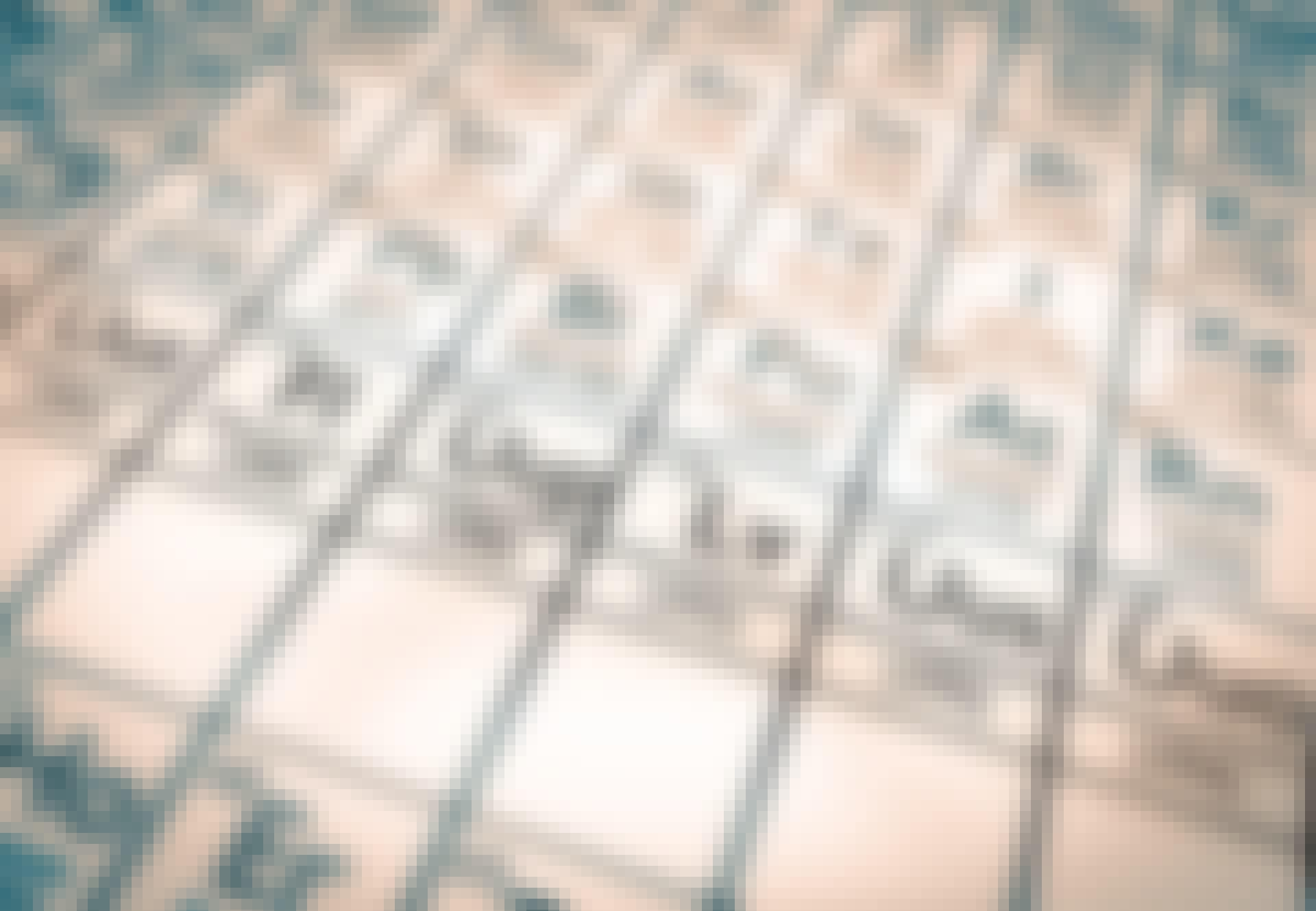 Close-up-av-det-periodiske-system