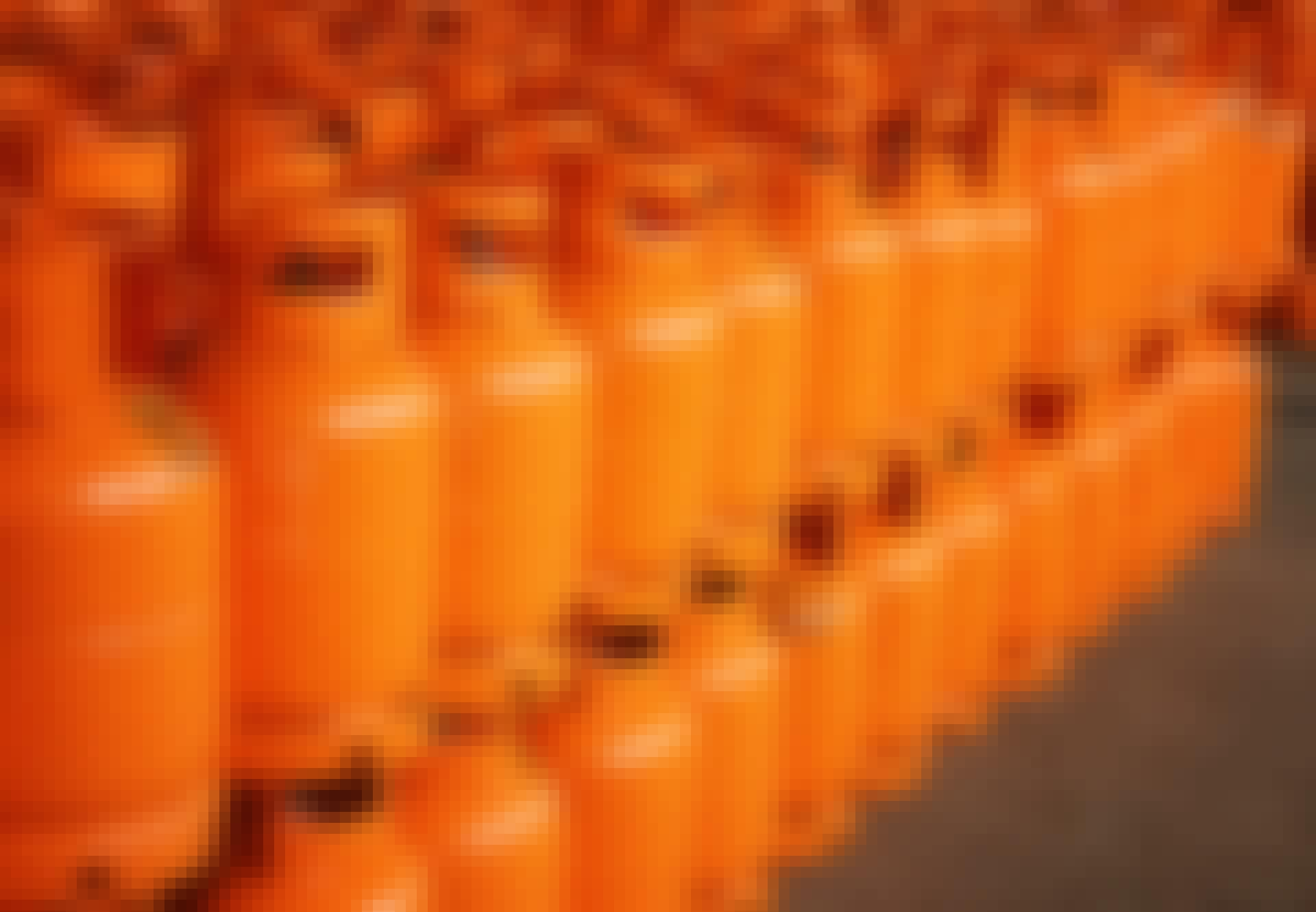 Orange-gas-cylinder